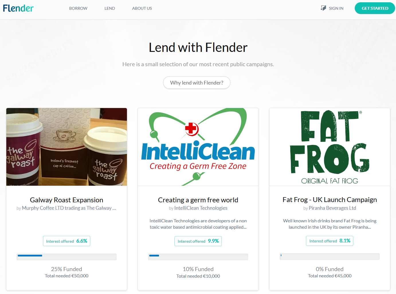 Flender marketplace