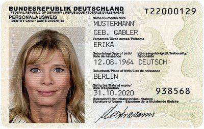 German id example